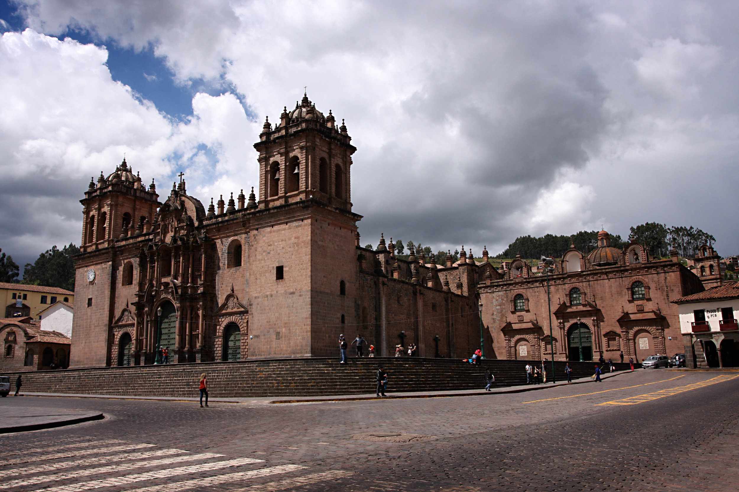 Cuzco's cathedral opened in 1654