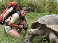 Tui and a tortoise