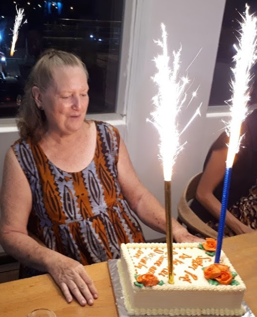 We are expecting to leave Ghana after being here for 19 years. Here is a picture of our celebration with Pat Robertson who served for more than 38 years in Ghana, and before that she had been in Ethiopia so she served almost 48 years as a missionary. Maybe you can't commit to 48 years; can you commit to 8?