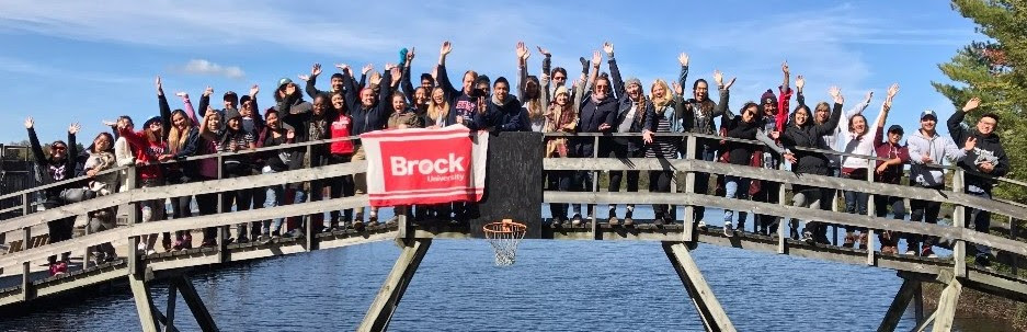 A picture of Brock University students at Summit last year.