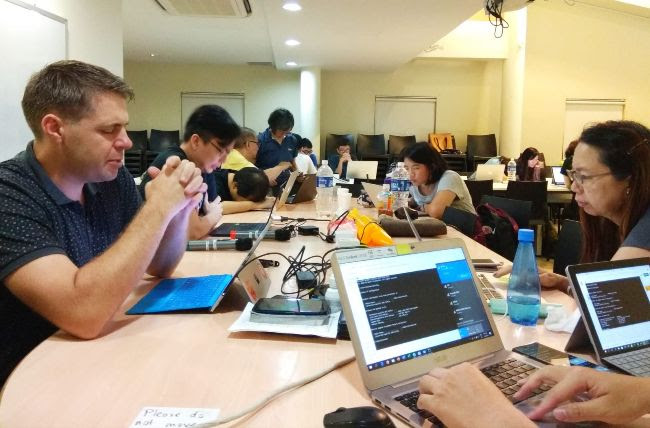 Online Responders at Singapore's Celebration of Hope.