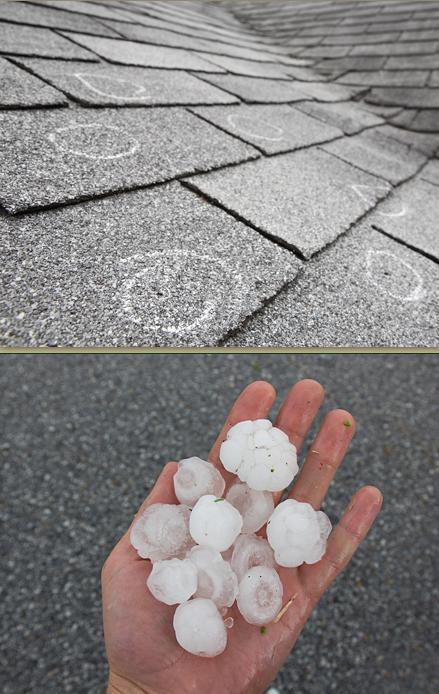 haildamaged
