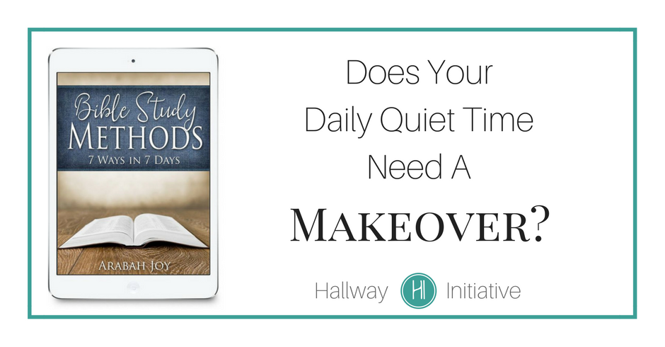 Daily quiet time makeover