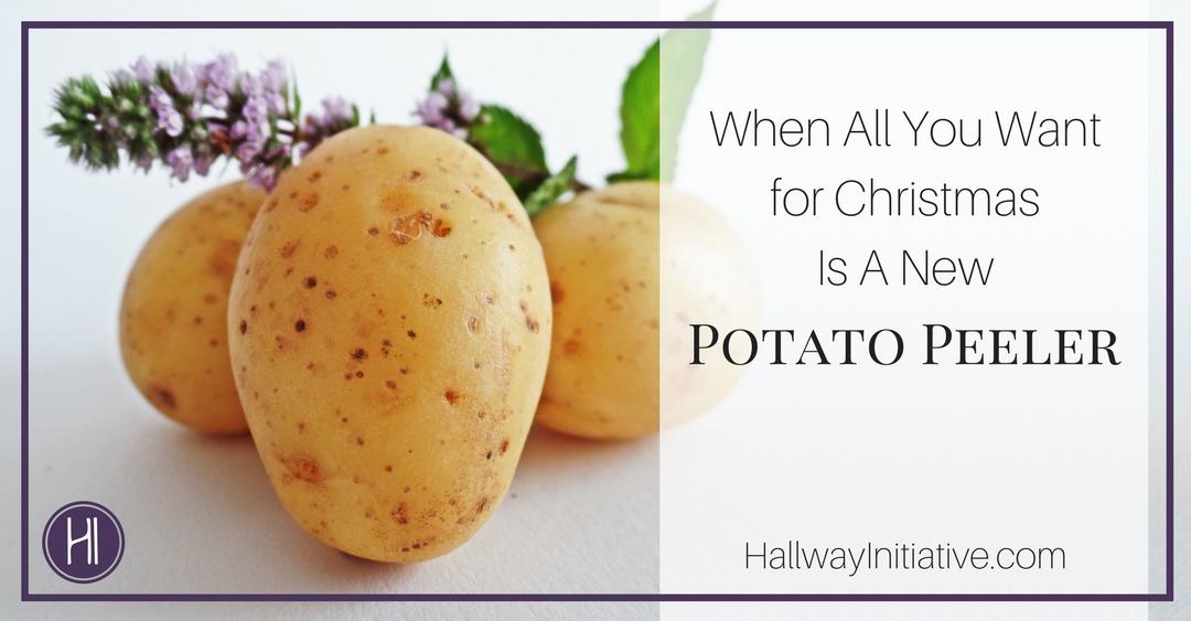 Christmas Potato Peeler