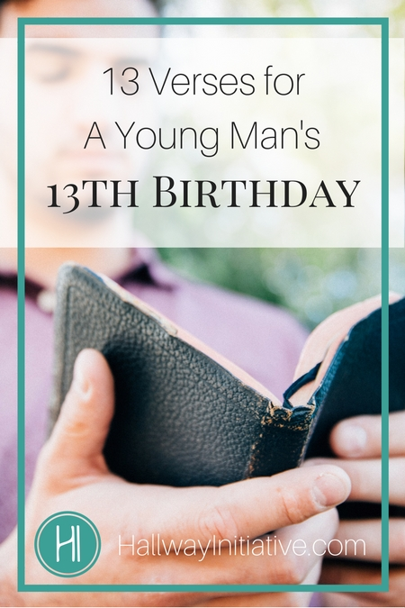 Young Man's 13th Birthday