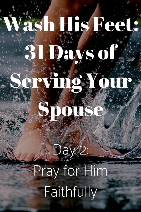 Wash His Feet Day 2