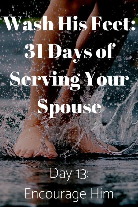 Wash His Feet Day 13