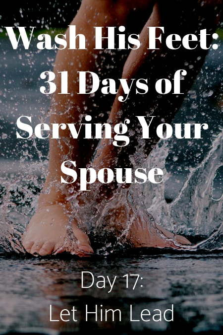 Wash His Feet Day 17