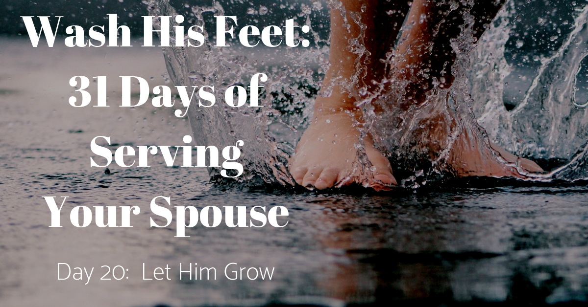 Wash His Feet Day 20
