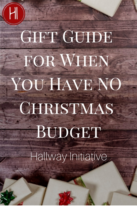 Christmas Gift Guide No Budget