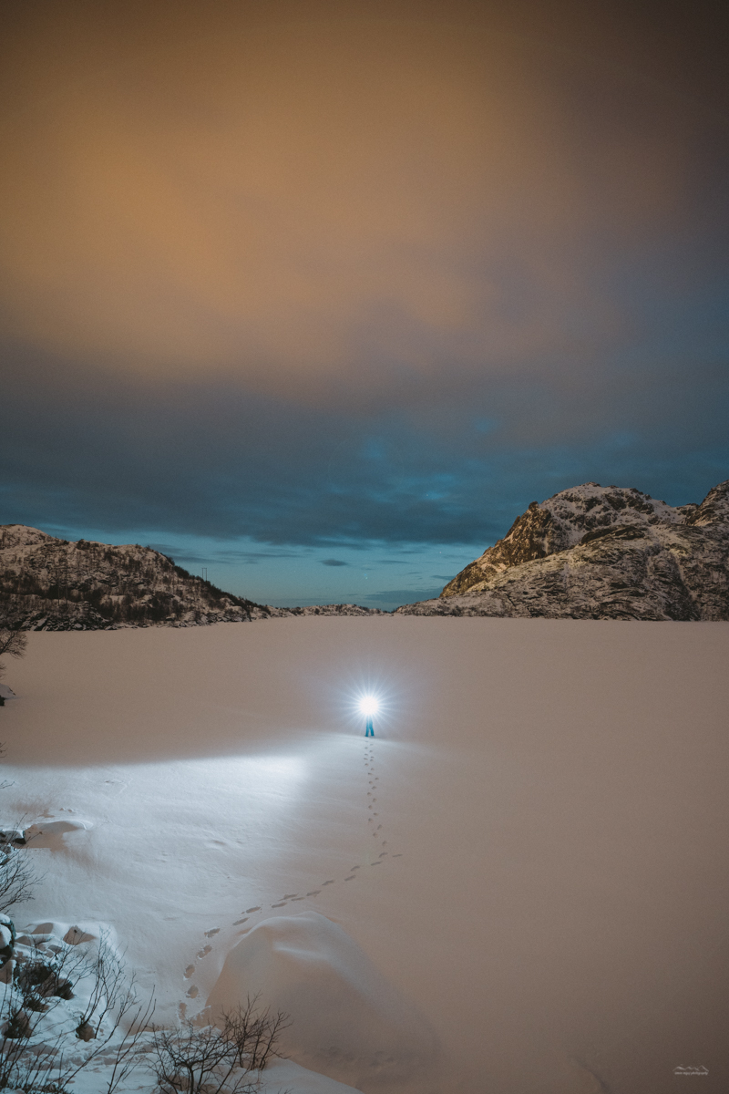 Night time travel photography