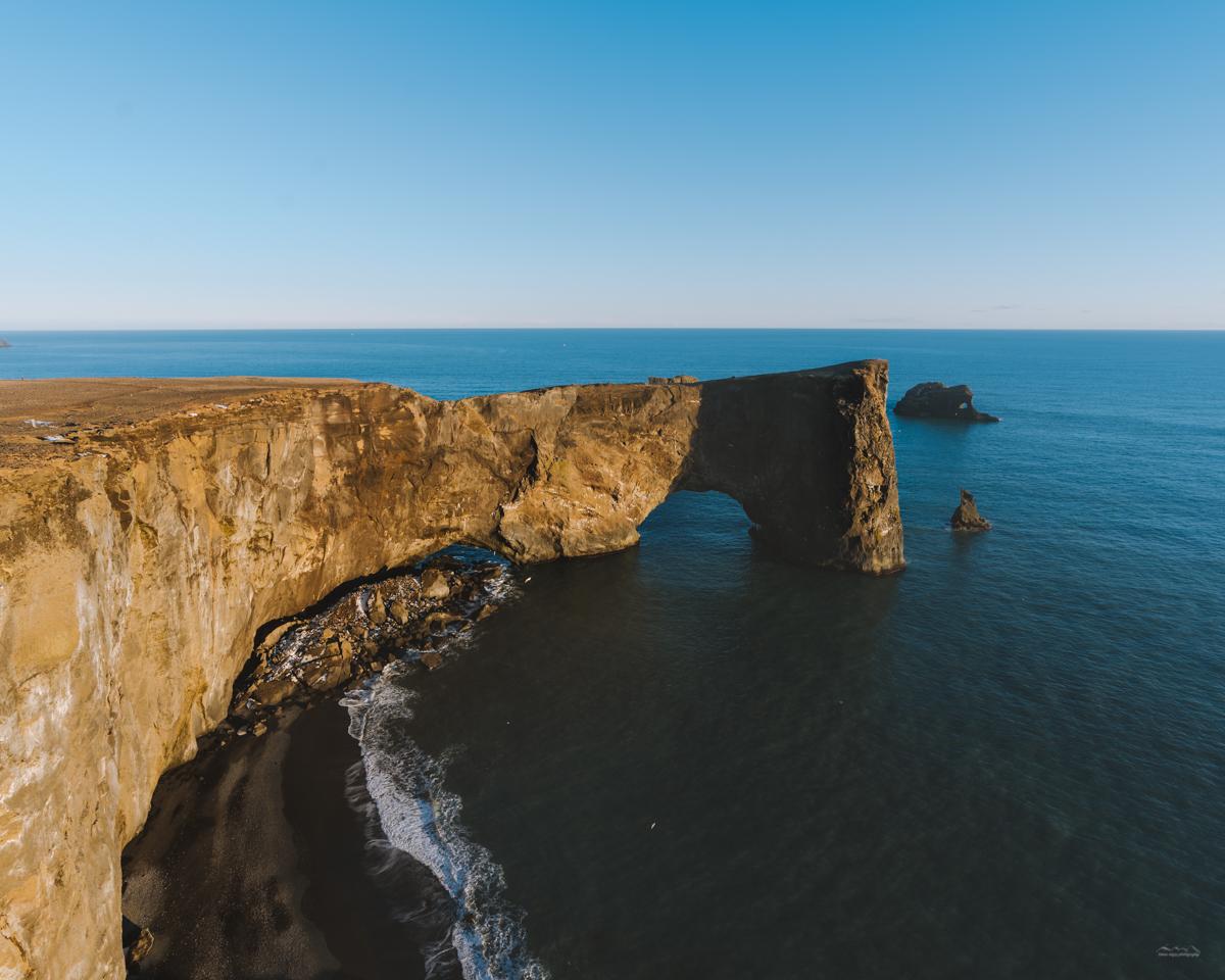 Incredible Icelandic cliffs