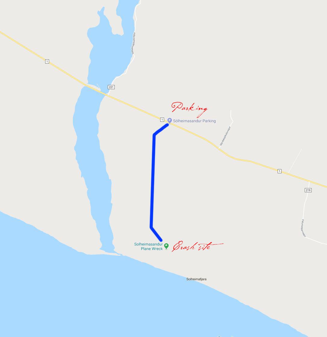 How to get to the Sólheimasandur plane crash site