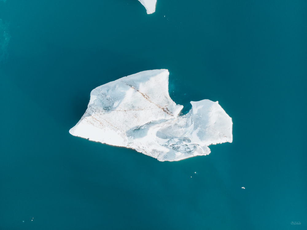ICe berg in the Jökulsárlón Glacier Lagoon