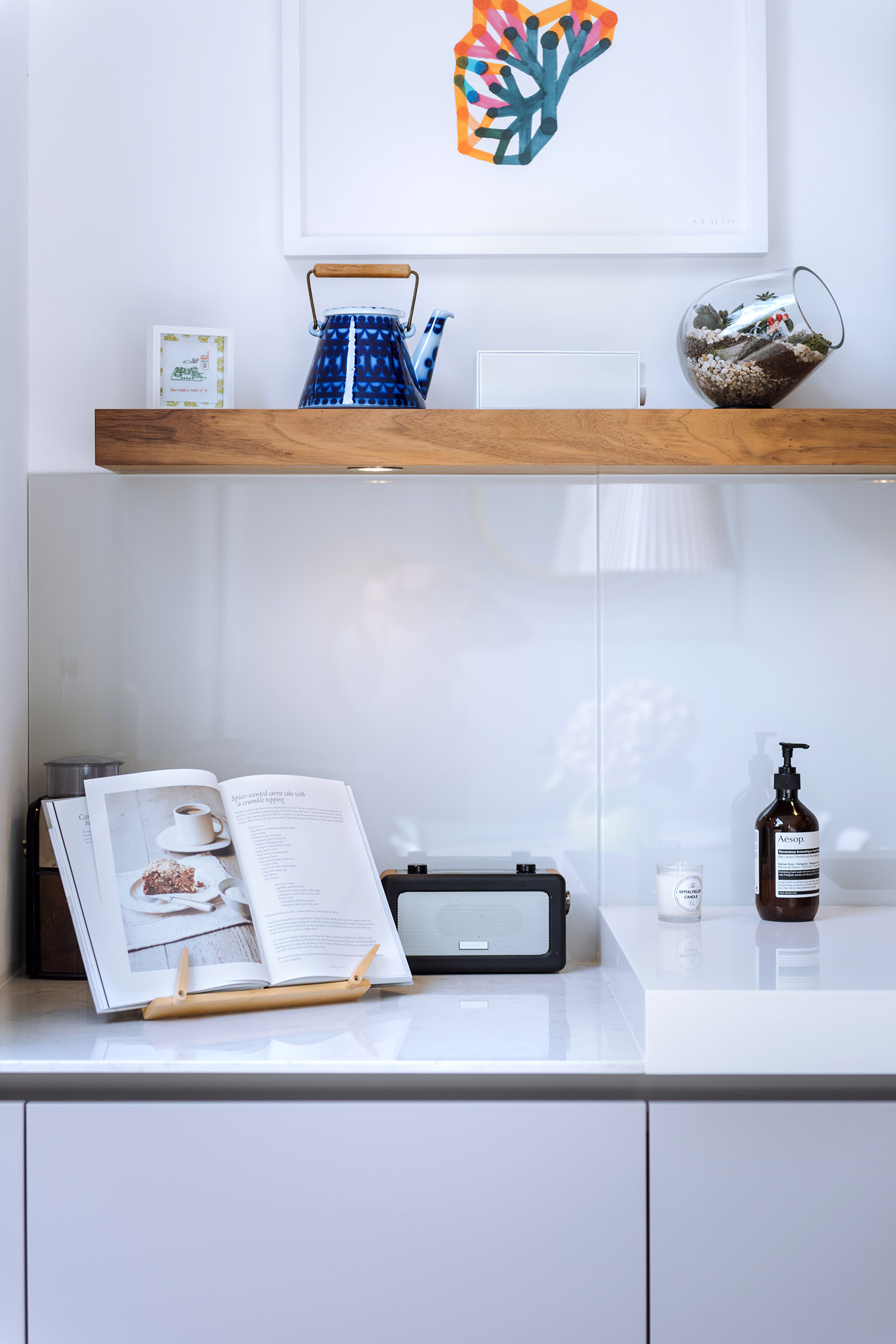 Interior photography - little details in the modern interior in London