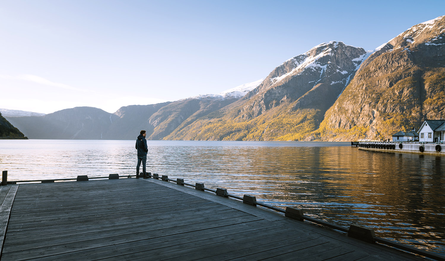 Travel photography in the fjords of Norway