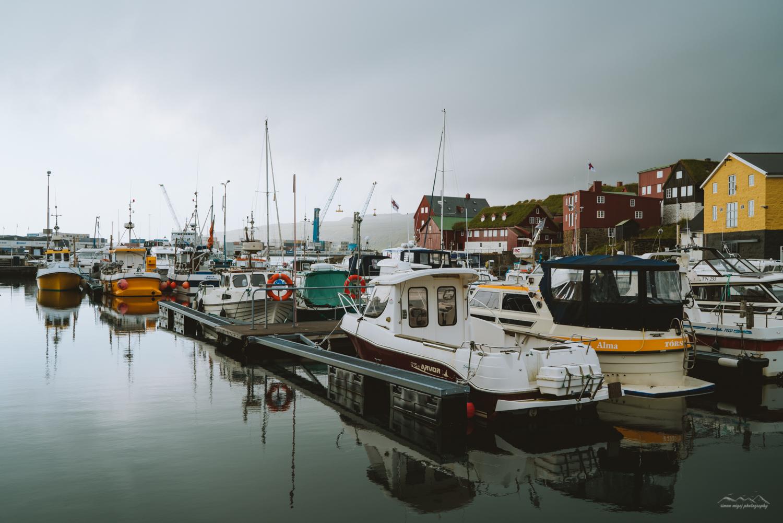 Foggy day in Tórshavn