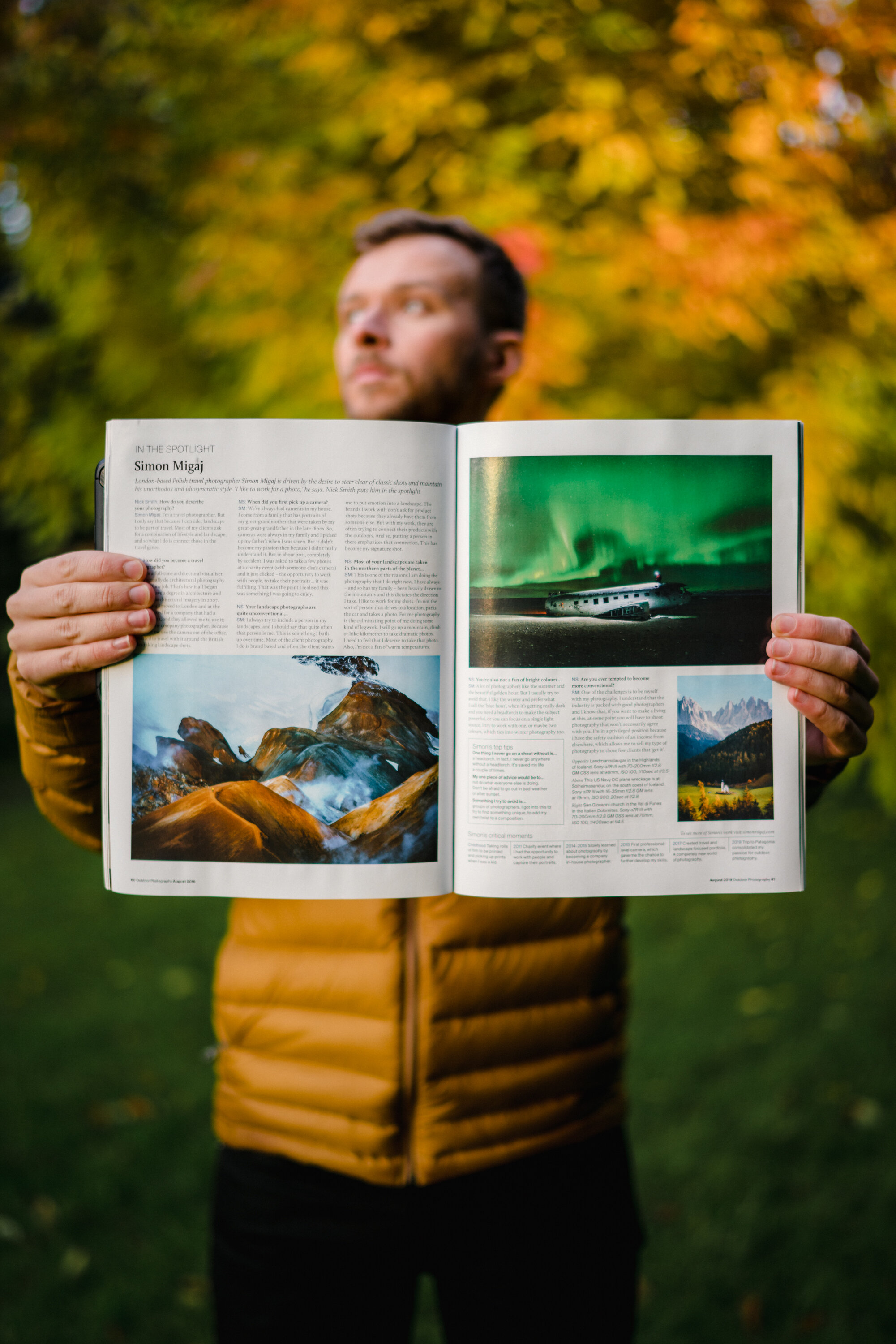 Outdoor Photography Magazine interview
