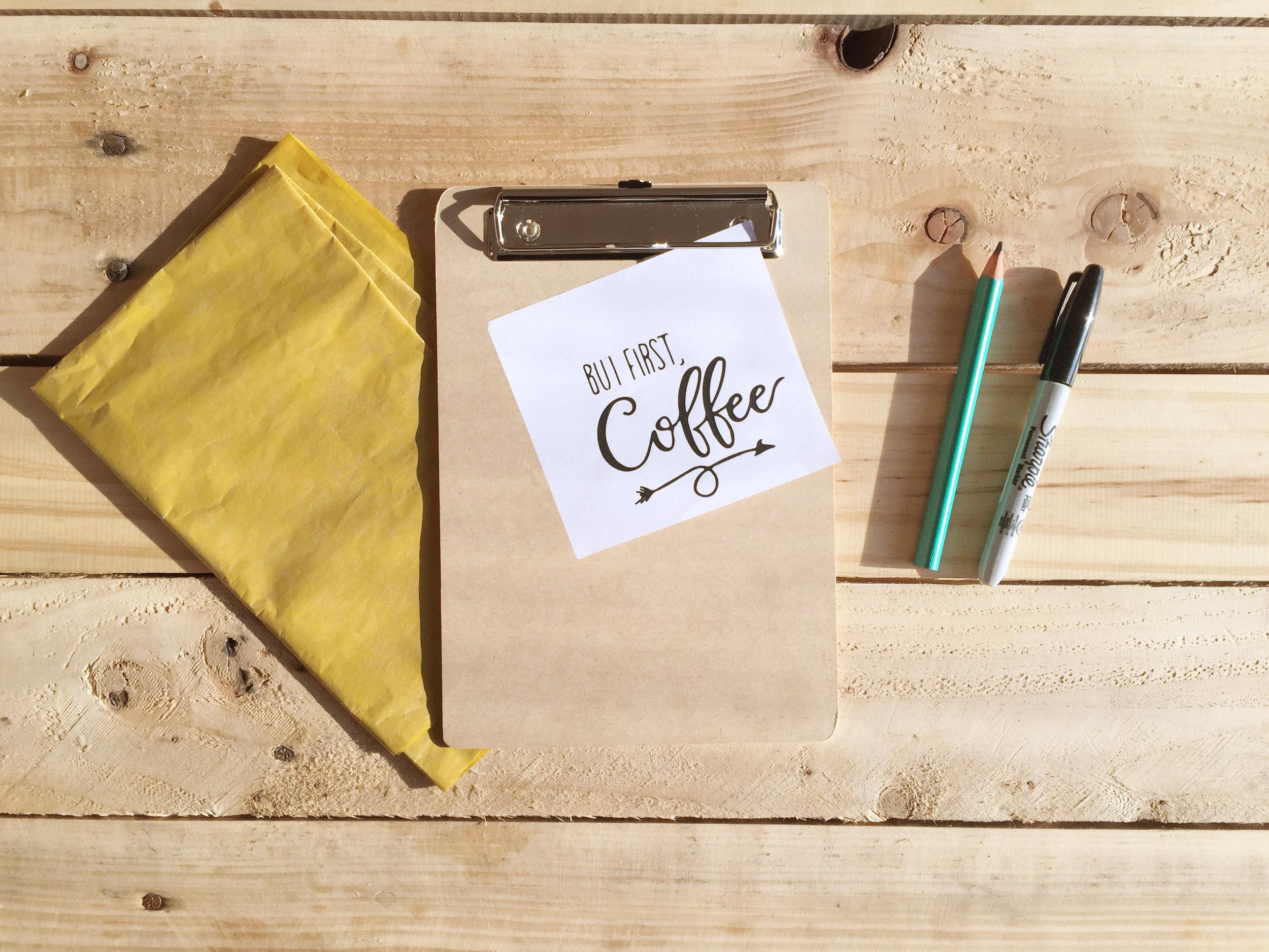 Qué necesitamos? - Porta filtros de café - The Experimess