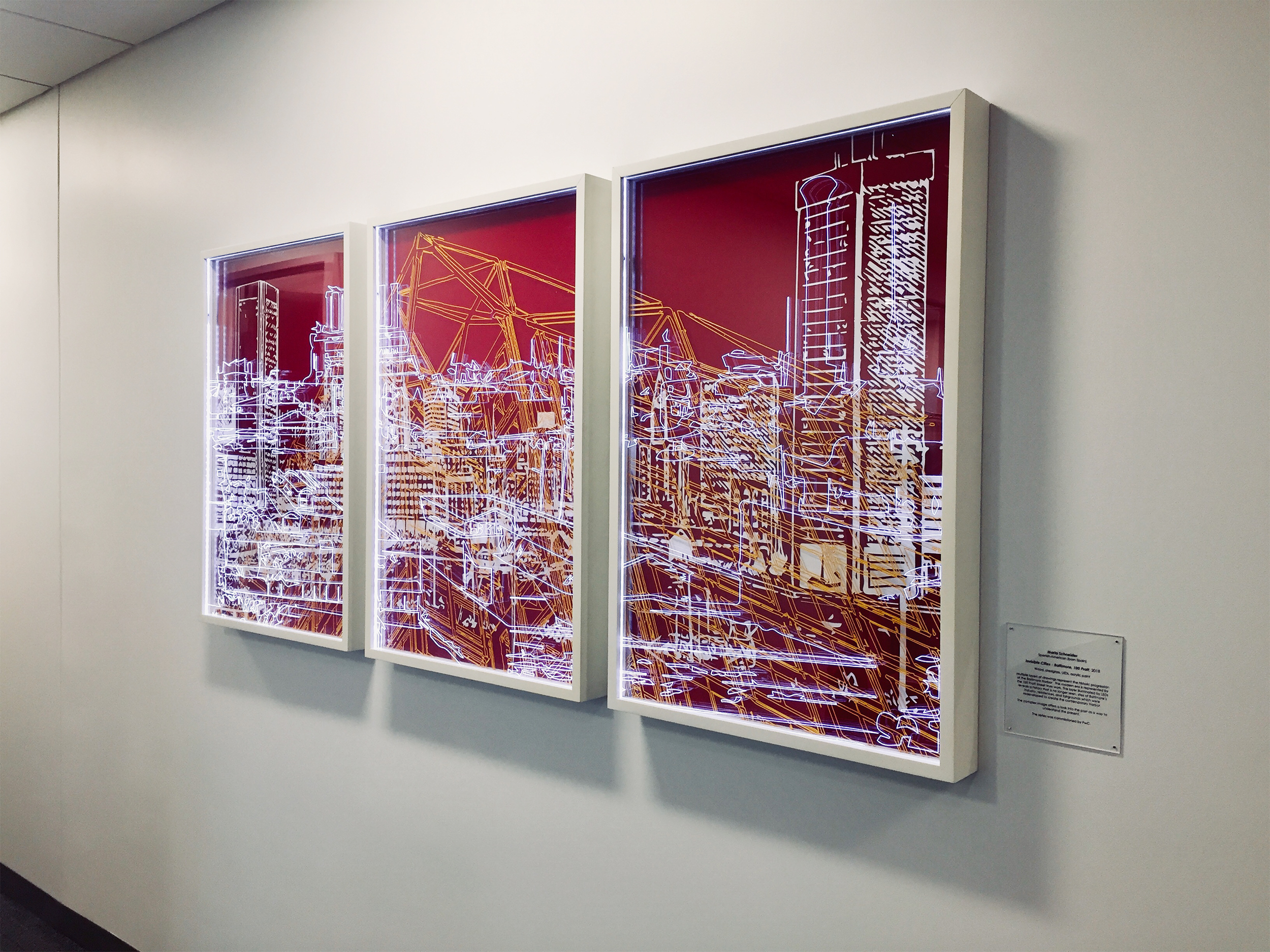 Invisible Cities- Baltimore, 100 Pratt