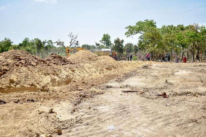 Work begins on Yola Fulako Dam.