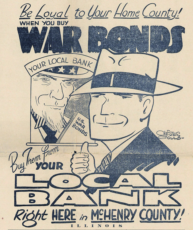 1942 War Bonds Advertisement