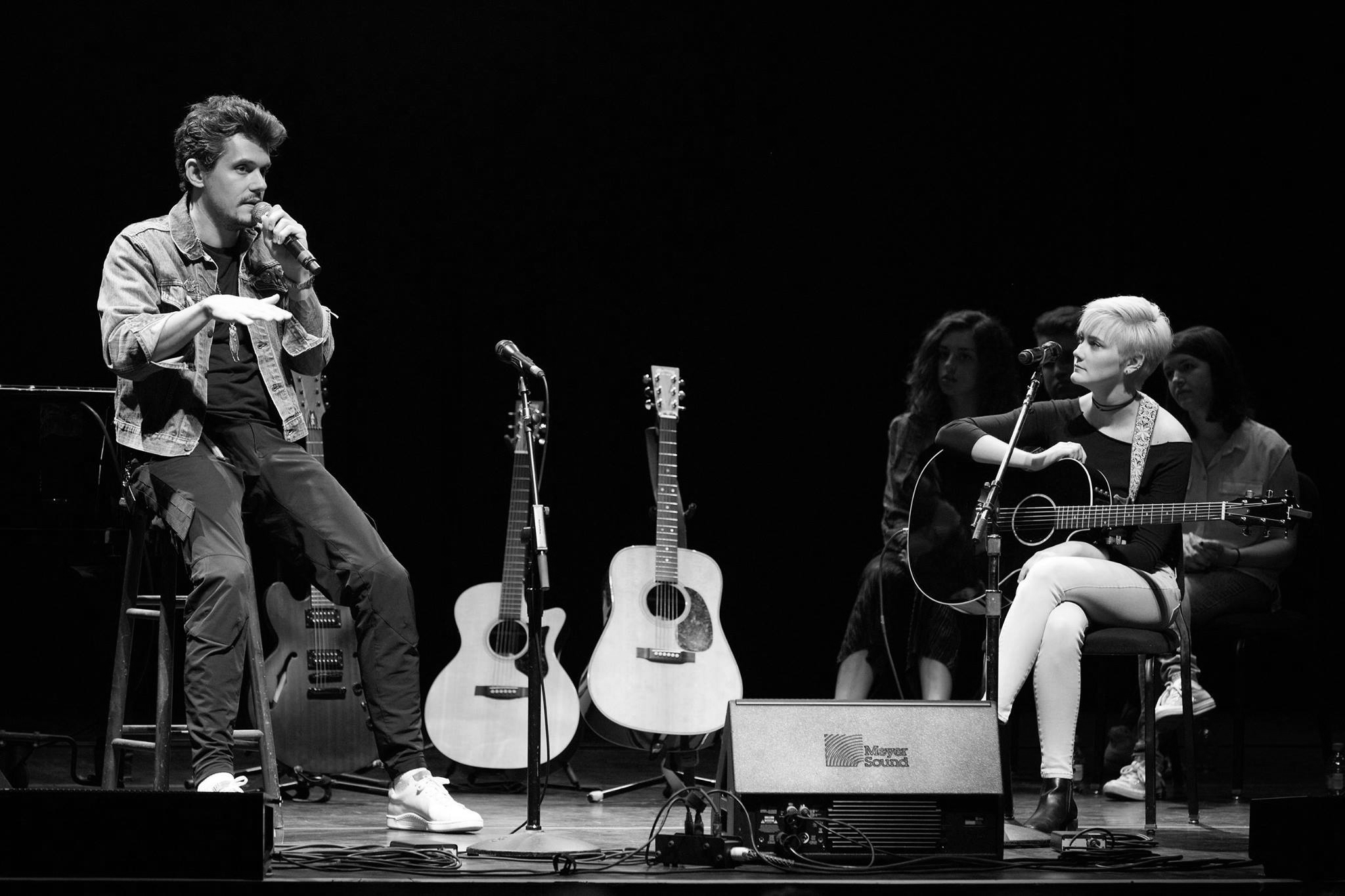 Virago performing her original music with John Mayer at a Berklee College of Music master class. Check out the press coverage below     The Boston Globe    Cleveland Scene Magazine    Cleveland.com    Berklee College of Music