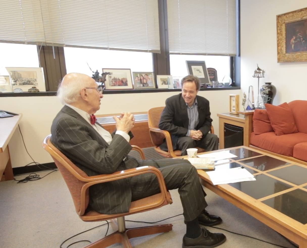 Dr. Eric Kandel in conversation with Ittai Shapira