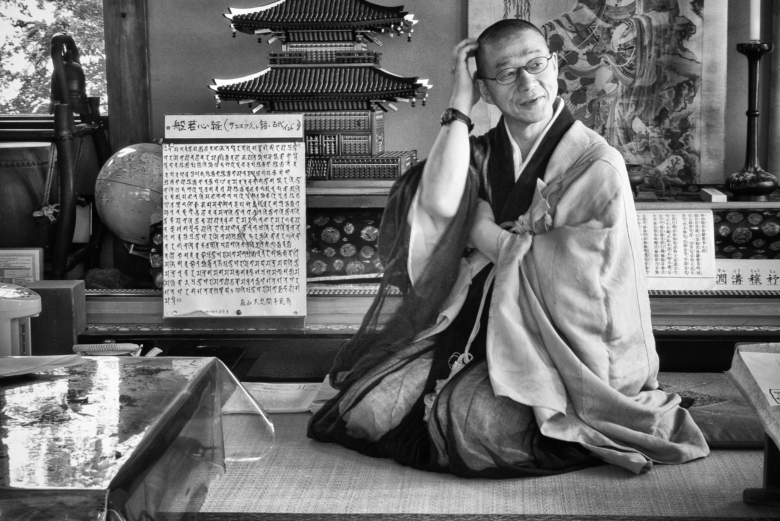 Monk in Japan