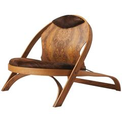 Almond Harzog - Lounge Chair by Richard Arthschwager