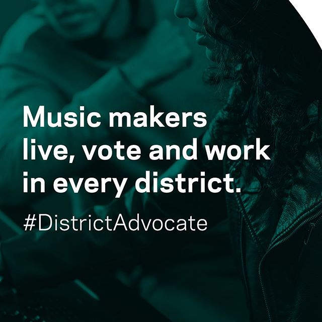 Working with fellow members of @recordingacademy to be a #districtadvocate today. Together, let's use our voices to make some much needed changes to laws affecting the livelihood of music creators.