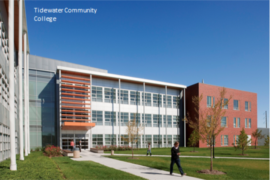 Tidewater Community College near Norfolk, Virginia.