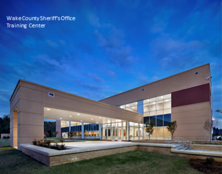 Our Design, Architectural & Construction teams were proud to design-build the first Police Training Facility in Wake County. An example of our ability to build structures with unique requirements and specialized construction codes in the Public Secto