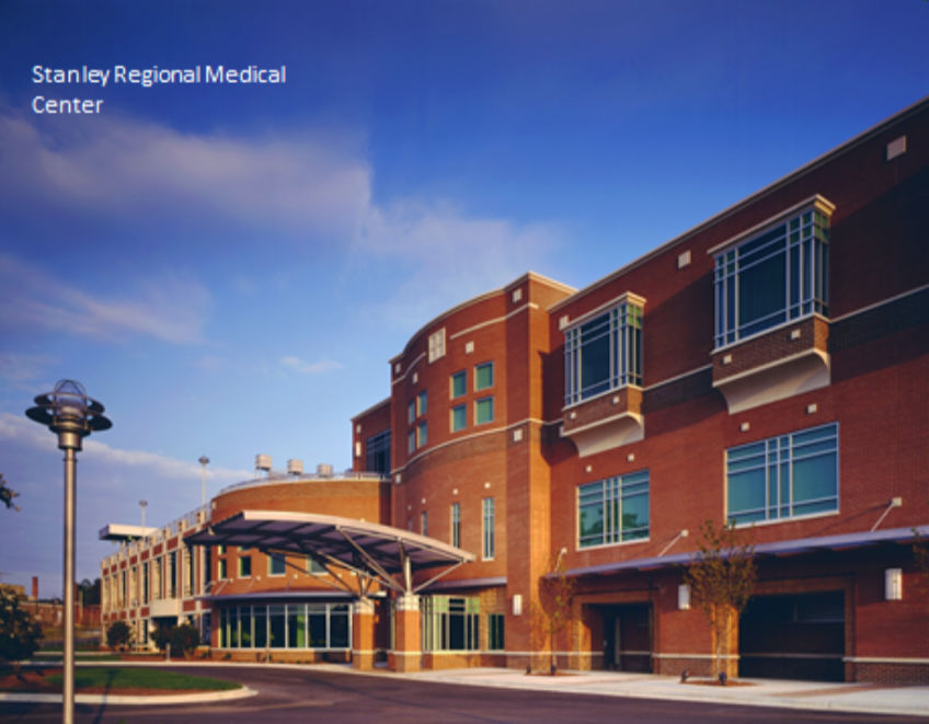 Another example of FDC/EYP's excellence in design and function. This award winning medical center is located near East Carolina University and is part of the University medical training program.
