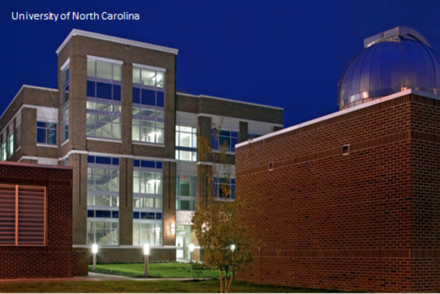 The University of North Carolina turned to FDC/EYP to design and build an observatory to house their large telescope near their science and technology center. This was a collaborative effort between FDC/EYP and the University Astronomy faculty and students. Our engineers, designers and construction teams learned what the faculty members needed and FDC/EYP delivered.