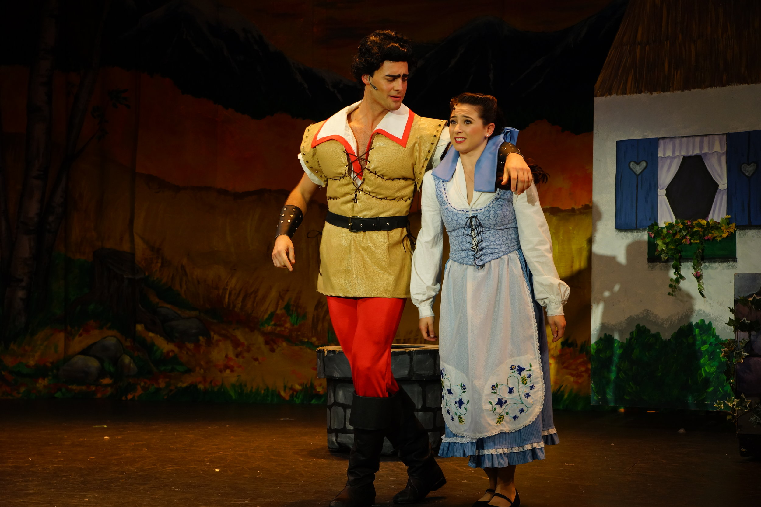 "Gaston in ""Beauty and the Beast"""