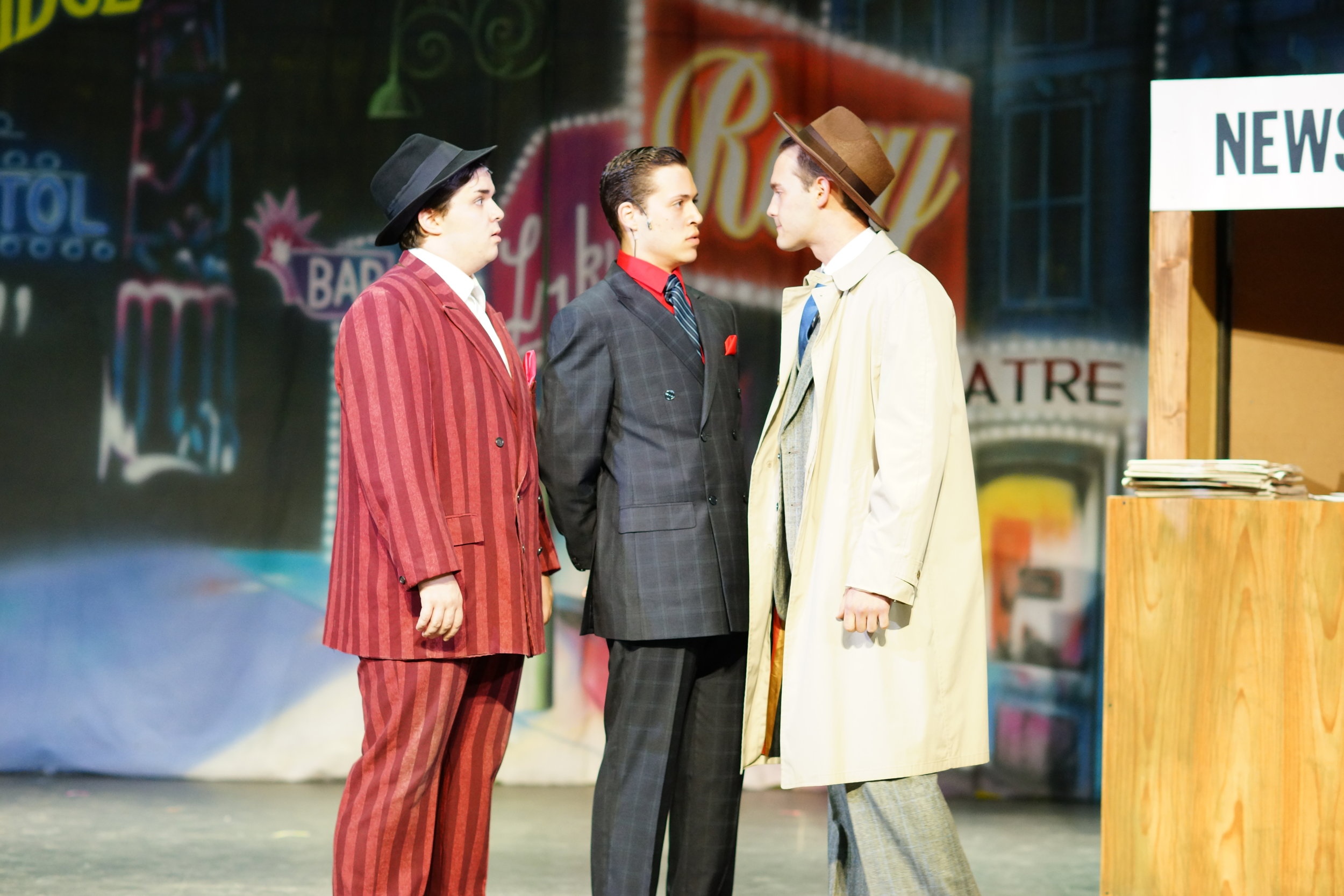 "Lt. Brannigan in ""Guys and Dolls"""