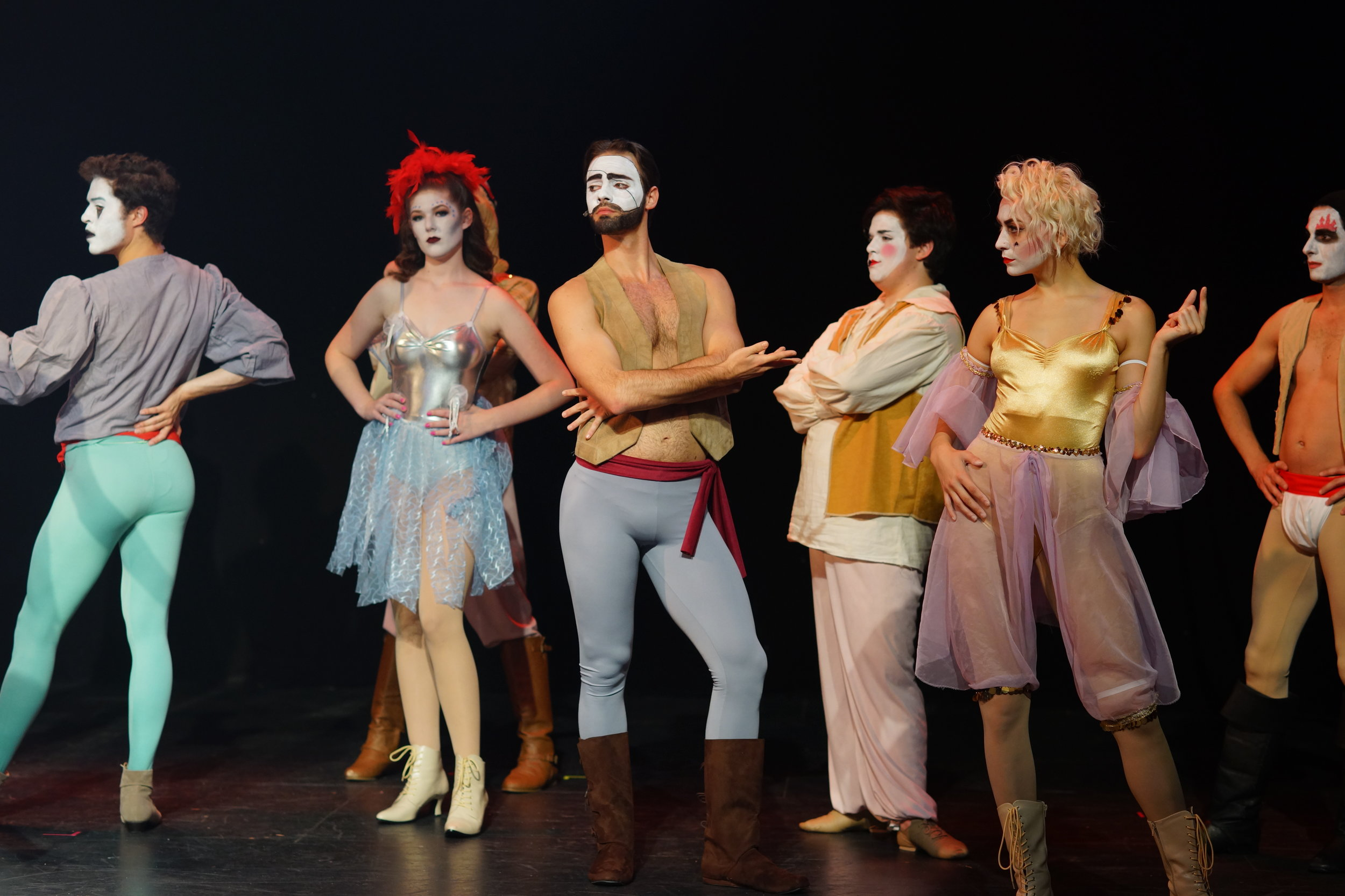 "Ensemble in ""Pippin"""