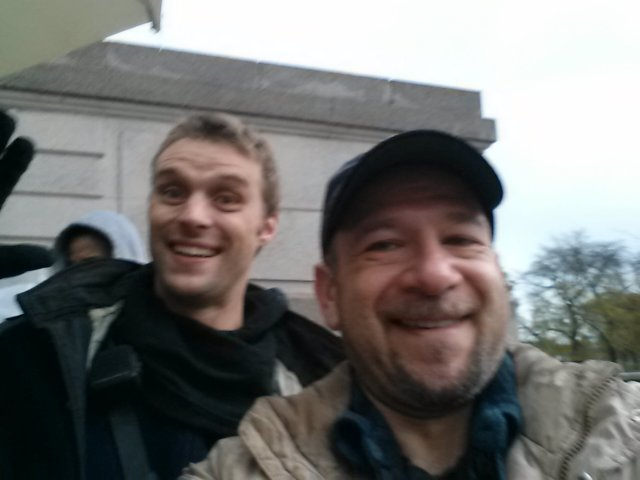 PHOTOBOMBED BY JESSE SPENCER