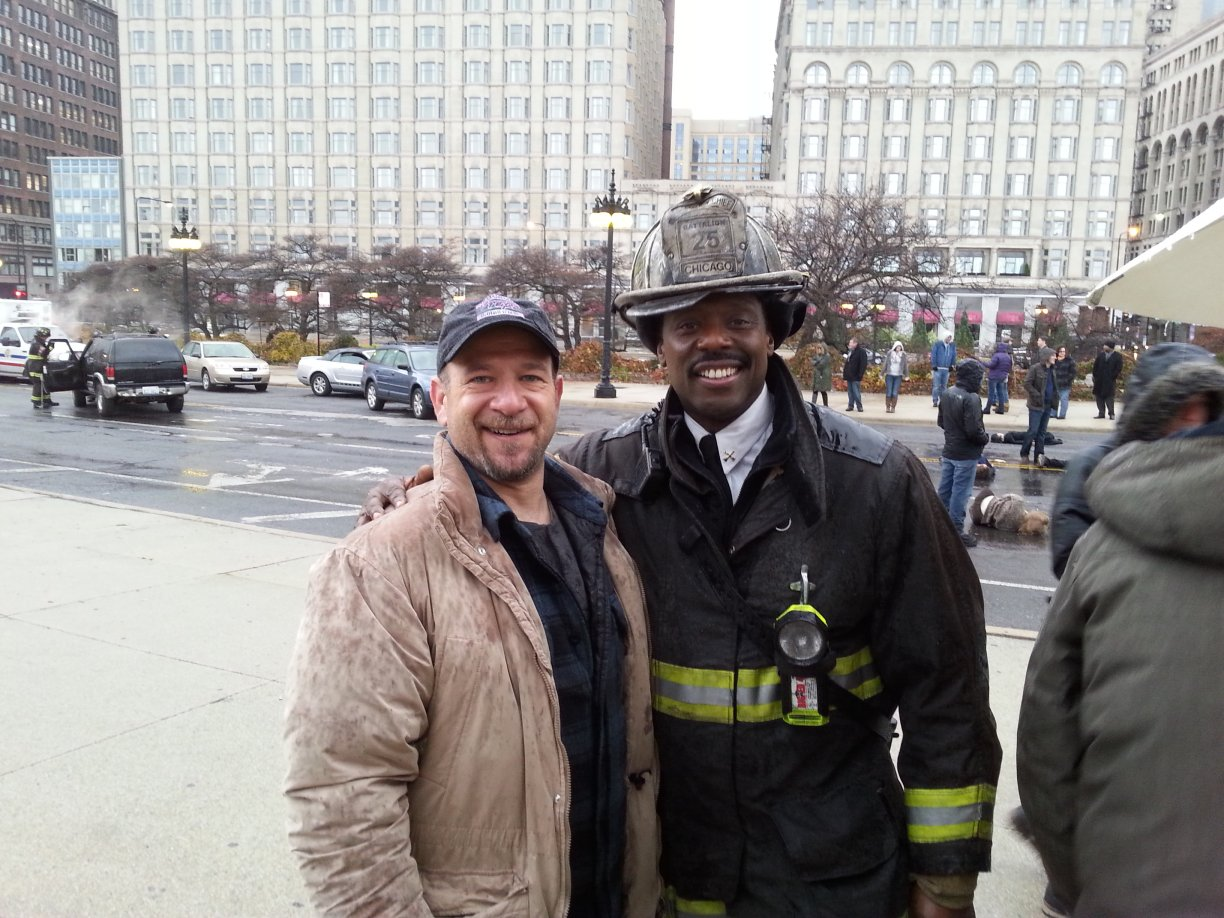 ON SET W/ EAMONN WALKER
