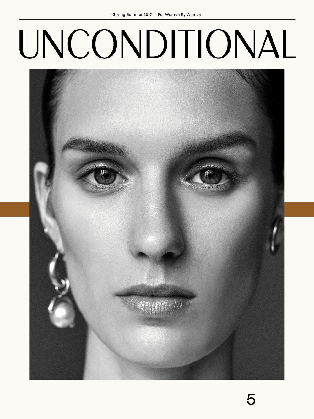 Unconditional magazine    The Grandé Hoop featured on the cover of Unconditional magazine 5. on the muse Marte Mei van Haaster