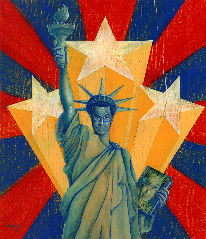 """Colbert is America"" - 2007"