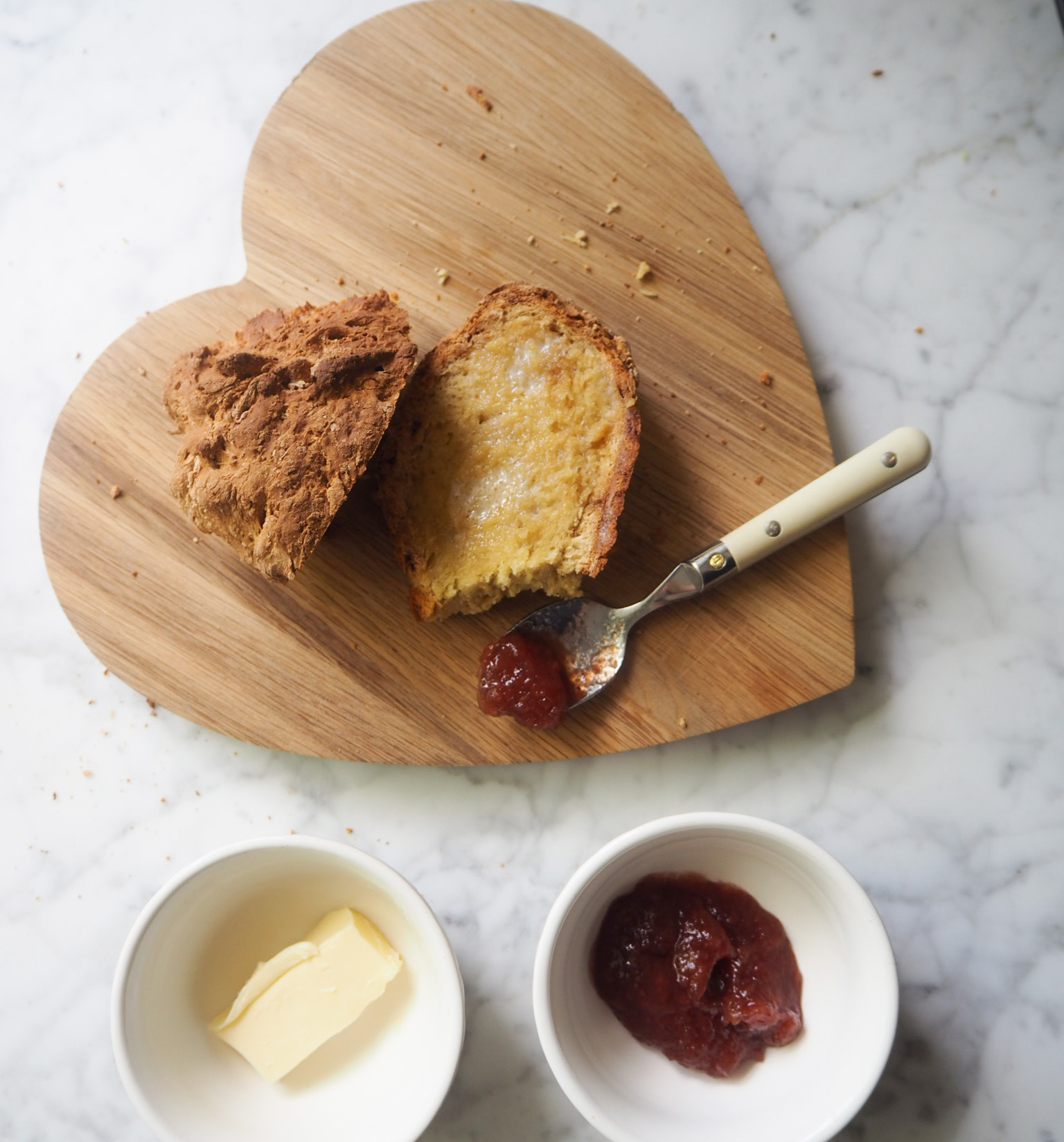 5 ingredient Soda Bread, from the River Cottage