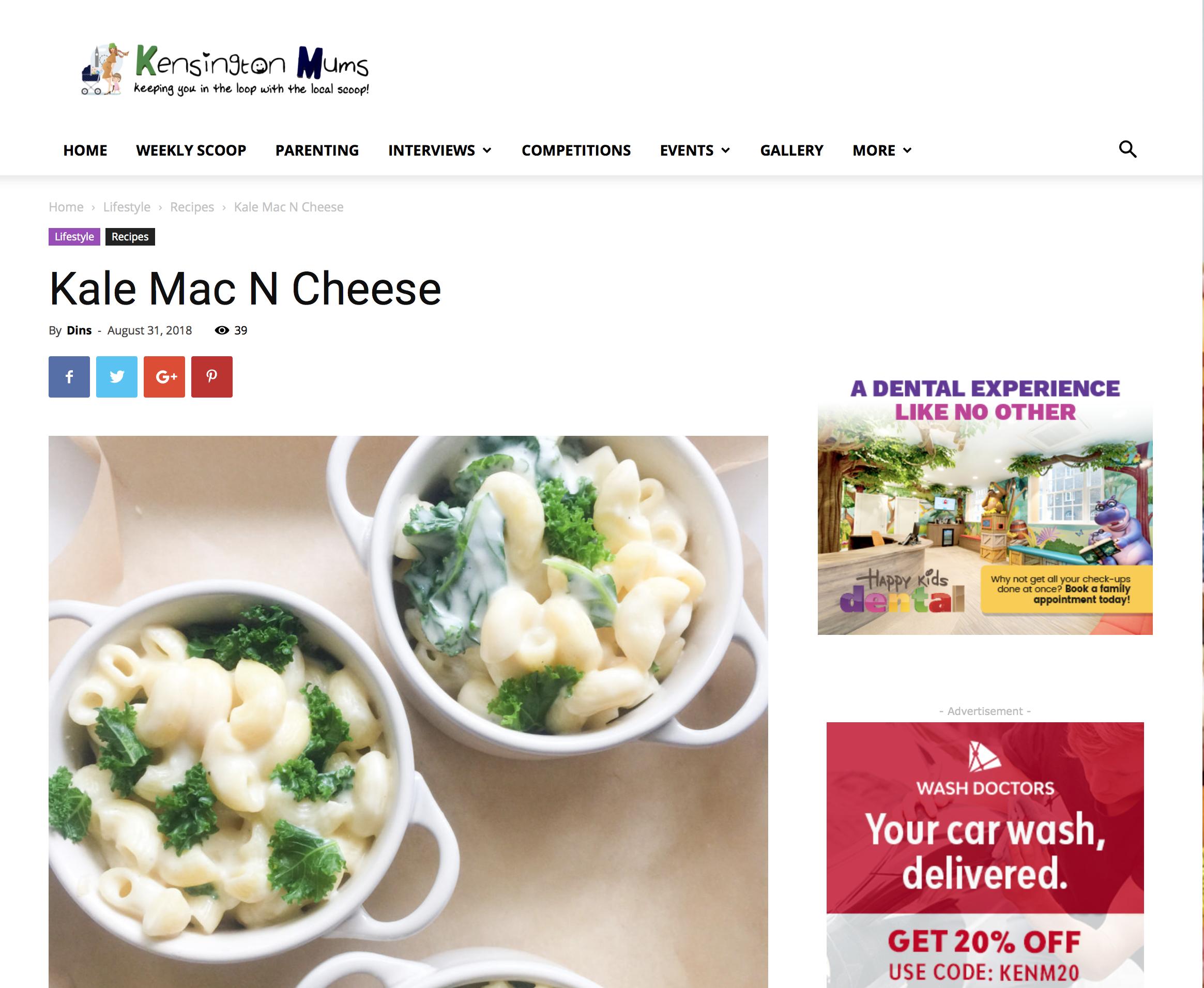 Kensginton Mums Kale Mac N Cheese 1 of 3 Aug 2018.png
