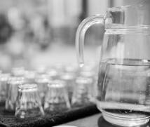 beer glasses and jug