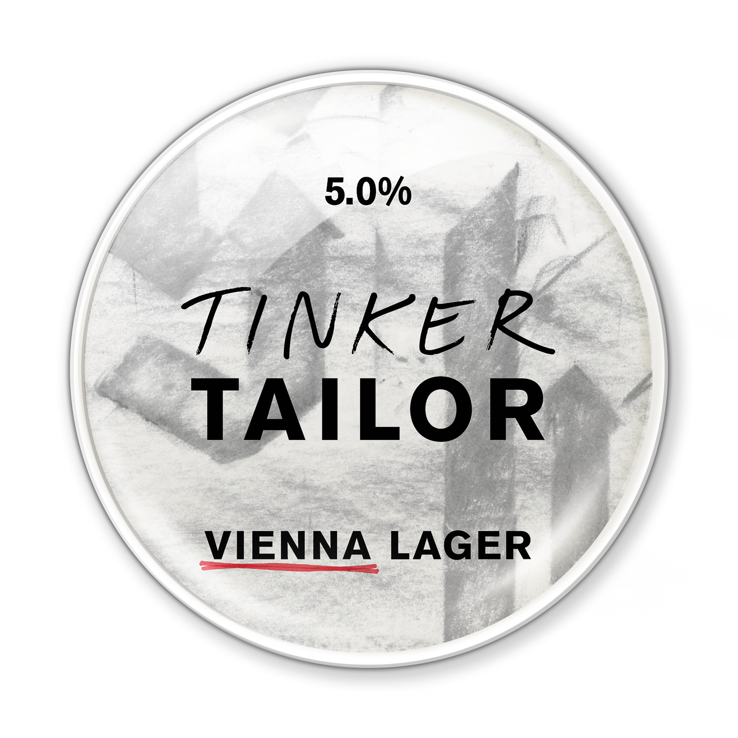 Vienna Lager - Tinker's revived a piece of history for this cold one. Our Lager has been fused with toasty Vienna malts that date back to Europe over 200 years ago.The same malts create a surprising, chestnut hue. A traditional taste with a crisp, refined finish.Pairs really well with a beef burger.5.0%