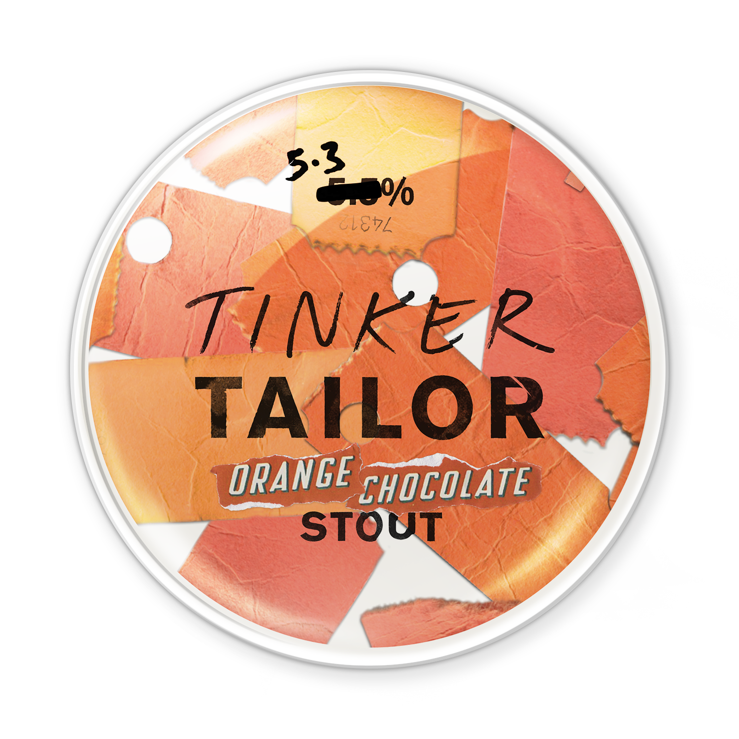 Orange Chocolate Stout - Tinker's rolled out the red carpet for this one. Our Stout's soft chocolate centre has been infused with orange zest to create a surprisingly velvety blend. A winter warmer worthy of an Academy Award.Ideal with sweet, smoky, glazed BBQ ribs. Or, for dessert, pair with a dark chocolate brownie.5.3%