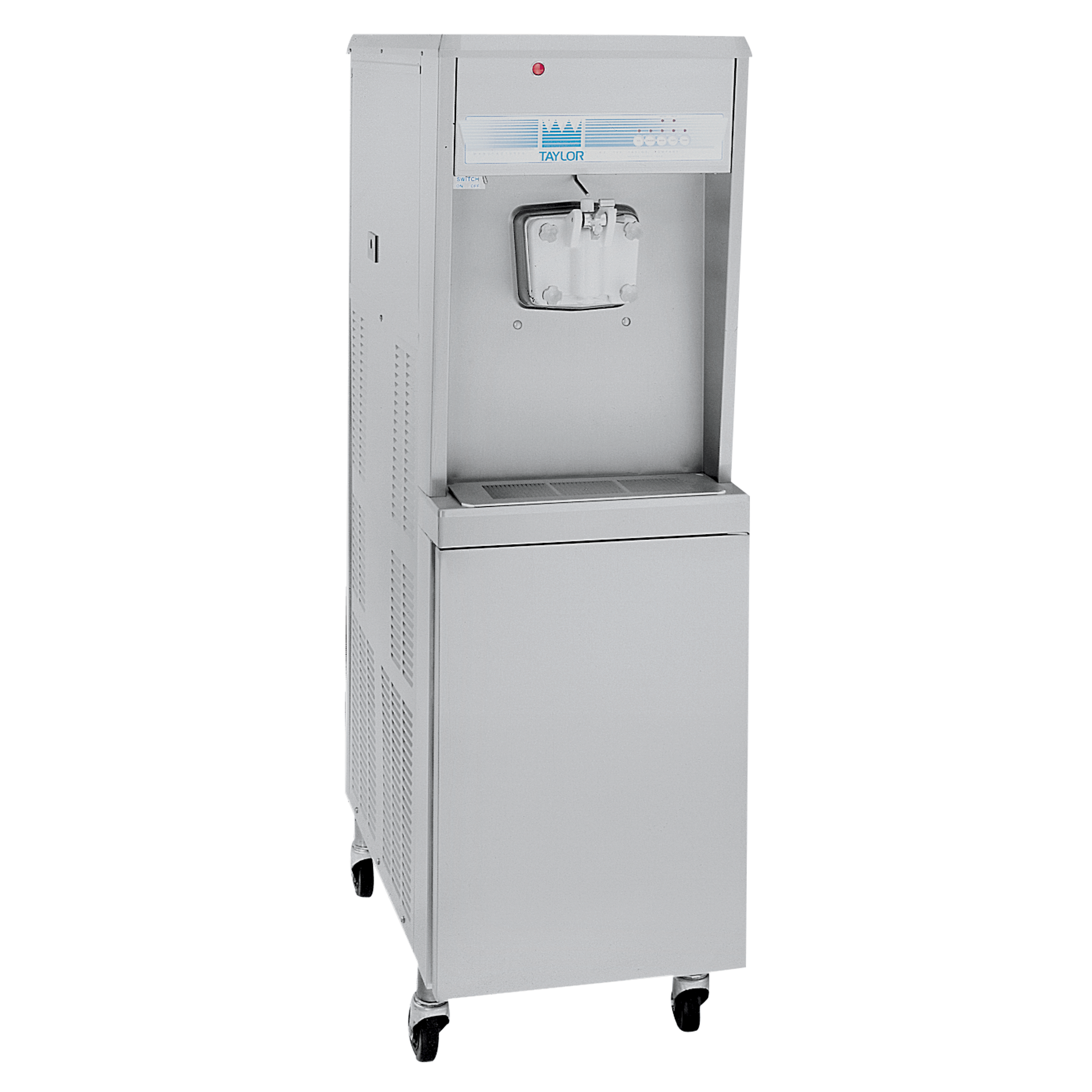 Model 8752    8752 Soft Serve Freezer   Offer all the popular soft serve variations from low or nonfat ice creams to custards, yogurt and sorbet.  KEY SPECIFICATIONS:   Finished Product : Soft Serve   Installation : Floor   Number of Flavors : 1   Freezing Cylinder QTY : 1   Freezing Cylinder Size (qt/l) : 3.4/3.2