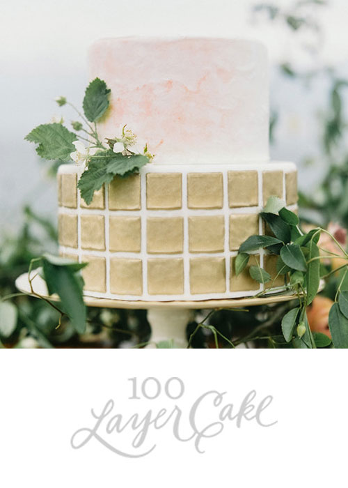 Organic Watercolor Wedding Inspiration