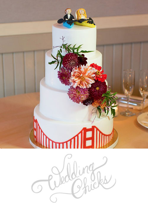 Our Heart Is In San Francisco For This Scenic Fall Themed Wedding